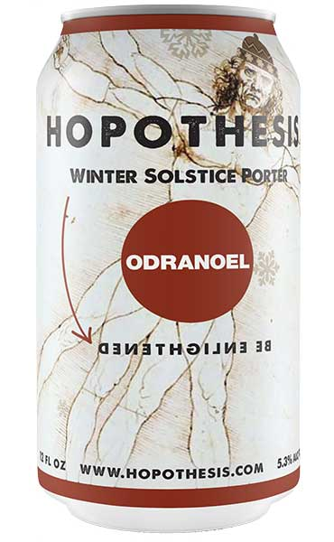 photo, can of Odranoel Winter Solstice Porter